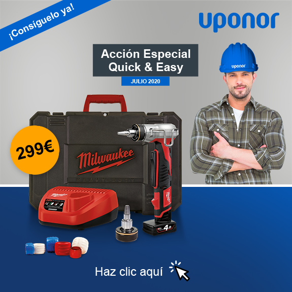 Uponor: Acción Especial Quick & Easy