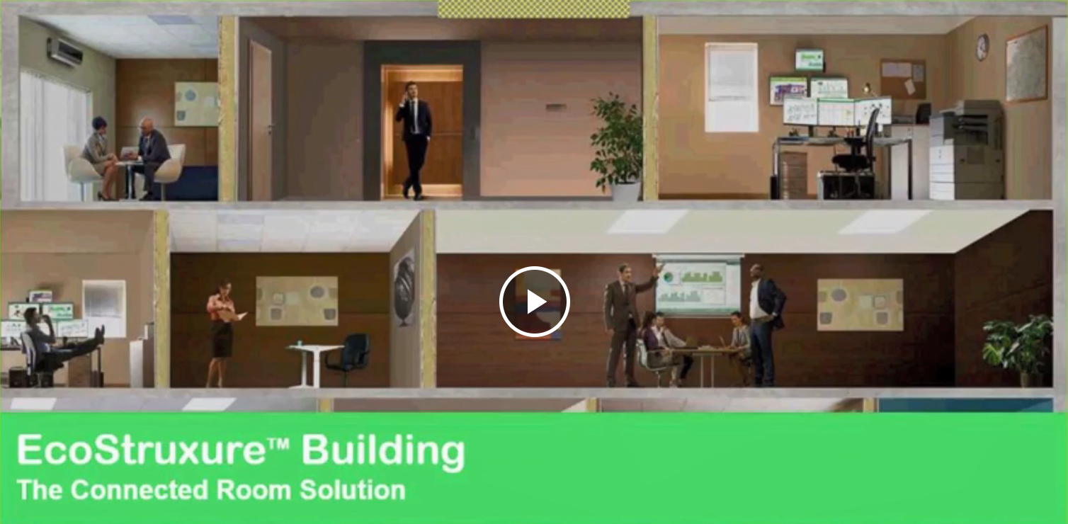 EcoStruxure Building - The Connected Room Solution